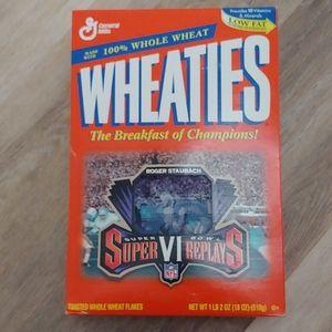 Wheaties 1997 Super Bowl Replays Roger Staubach